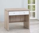 106(3013)3尺橡木白書桌-1