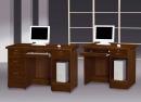106(5010)胡桃實木電腦書桌