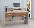 106(3013)5尺橡木柚木電腦書桌