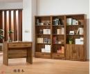 106(5100)基層木書桌書櫥-1-1