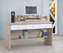 106(3013)5尺橡木白電腦書桌