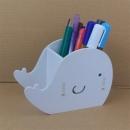 Q版鯨魚多功能筆筒