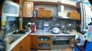 原木L型廚具