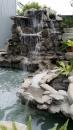 假山水池造景