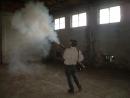 DSCF0325 工廠使用熱霧機煙燻防治害蟲