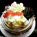 旺旺狗蛋糕