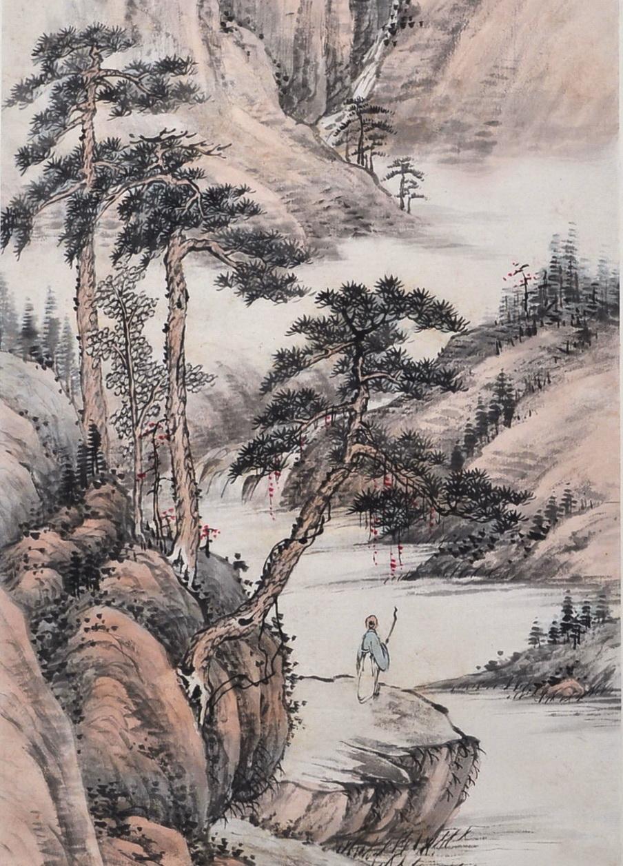 房毅,(1889—1979),一作房房山,字虎卿,號揖峰。江蘇常州人。工畫山水、走獸,擅繪墨龍。為承名世之師。解放後以七十高齡,赴各地寫生,精工逼真,無老態。女素鈿,亦擅繪事。