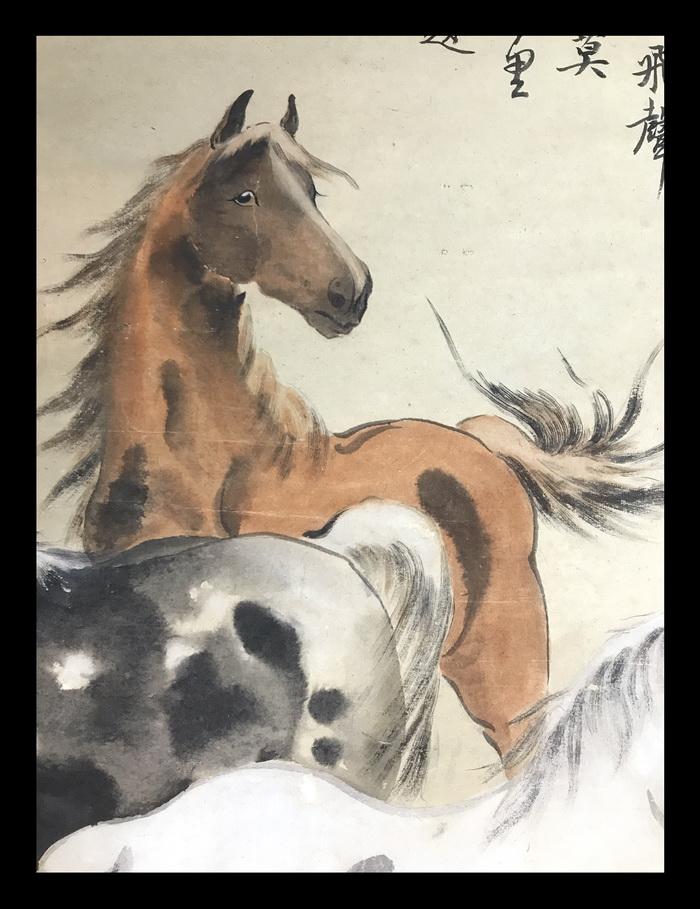 2018年5月13日 -齊白石,徐悲鴻,汪亞塵,時稱畫壇三傑齊名畫壇汪亞塵畫作遠不及齊白石畫的蟹,更比不上徐悲鴻畫的馬,同為畫壇名家,畫價卻相差甚遠,人比人真是氣死人。