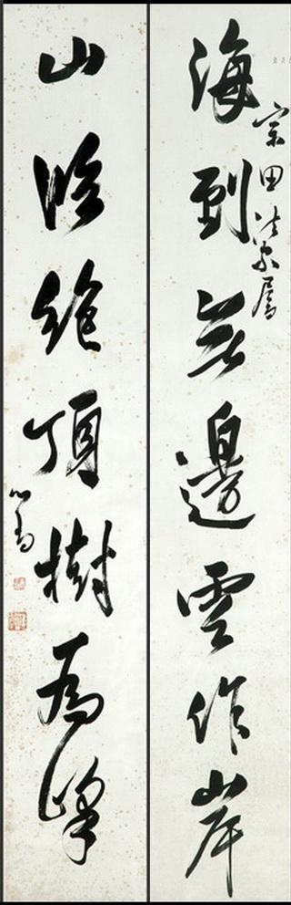 溥心畬(溥儒)書法-書法作者簡介/溥心畬(1896年9月2日-1963年11月18日),愛新覺羅氏,鑲藍旗,恭親王奕訢後裔,字輩溥,光緒帝賜名儒,字心畬,齋號寒玉堂。生於北京。因其詩、書、畫與張大千齊名,故後人將兩人並稱為「南張北溥」。與黃君璧、張大千以「渡海三家」齊名。 1 溥心畬生平; 2溥心畬家庭; 3 溥心畬評論; 4 溥心畬註釋