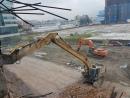 高樓房拆除工程