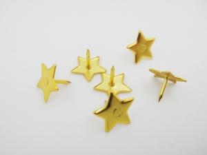 真空電鍍造型圖釘(星星)