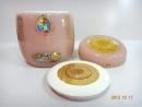 紫玉琉璃(心)九品蓮花新型塘瓷專利