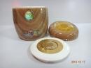 黃晶瑪瑙(心)九品蓮花新型塘瓷專利