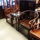 紅木原木太師椅