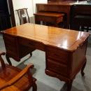 紅木原木辦公桌