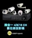 遠端數位監視系統(混合式錄影主機)