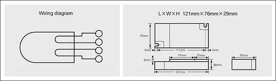 預熱啟動型電子安定器(四方型)-PLT系列01Preheated activation type e