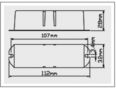 BUK-A系列 CC定電流驅動器規格-1BUK-A Series CC LED driver wit