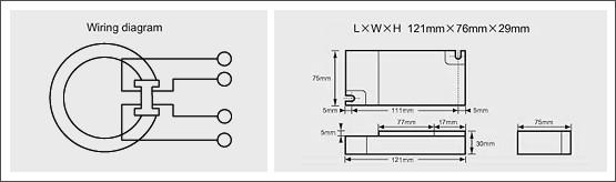 預熱啟動型電子安定器(四方型)-TL5C系列01Preheated activation type