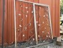 304不銹鋼鍛造 烤漆 防盜窗