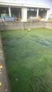 雨水污泥槽未清洗前