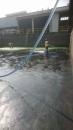 雨水污泥槽清洗中