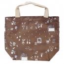 日本Anano café迷你購物袋(咖啡色)B017C0134S4830877