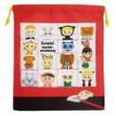 日本ECOUTE!大尺寸束口袋(紅)B017C0150S5259627