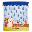日本ECOUTE!大尺寸束口袋(北極熊)B017C0152S5259629