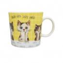日本ECOUTE!貓咪陶瓷杯B017C0226S5571697