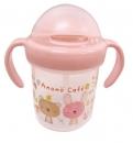 日本Anano café吸管式水杯(粉)B017C0242S3439620