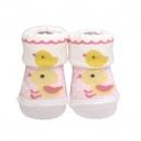 日本Anano café可愛小雞襪子(粉)B017C0247S5660922