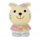 日本Rub a dub dub兔兔存錢筒(米黃)B017C0261S4996702