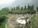 半月池全景