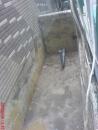 台南防水施做-花圃凹處混凝土補平