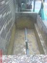 台南防水施做-花圃排水配管