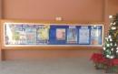 學校強化玻璃公佈欄