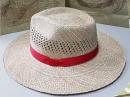 藺草日式紳士帽