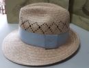 時尚藺草紳士帽