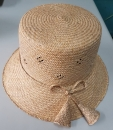 手工藺草鈴鐺漁夫帽