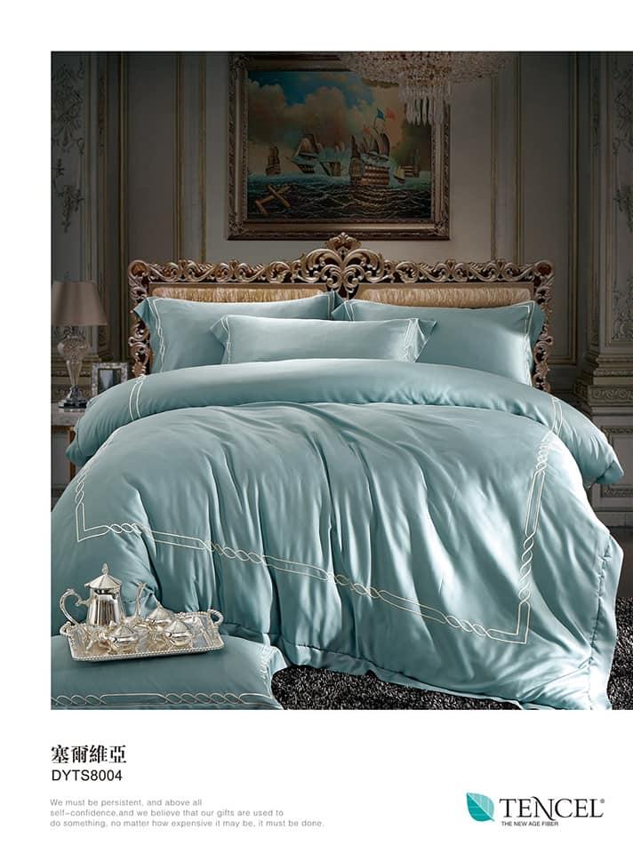 100%天絲(60s)床包 兩用被床組 ,台北天絲床組特價,台北東區買天絲床組 (7)