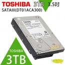 TOSHIBA 3TB 3.5吋 SATAIII 硬碟 7200轉(DT01ACA300)監控系統硬碟
