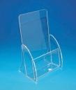 VA-DM-A DM盒一層透明壓克力架4光邊+4R角