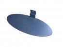 SW-063S-L 槽板用橢圓板鞋架 (鋁色)