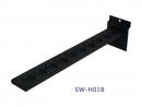 SW-H01B 高爾夫球桿橡膠底座-直式 10孔 消光黑(槽板用)