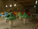 宜蘭親水公園-香菇造型燈殼1