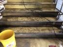 樓梯清洗前