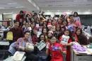 105年萬達人力集團獎勵員工「耶誔節交換禮物」活動