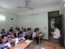 萬達人力集團外勞在越南上課情況