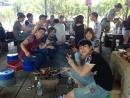 萬達舉辦大型外勞活動─麥克田園烤肉